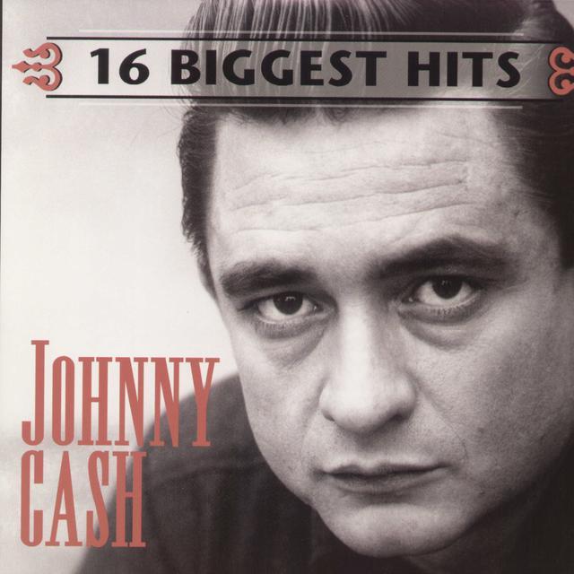 Johnny Cash 16 BIGGEST HITS Vinyl Record