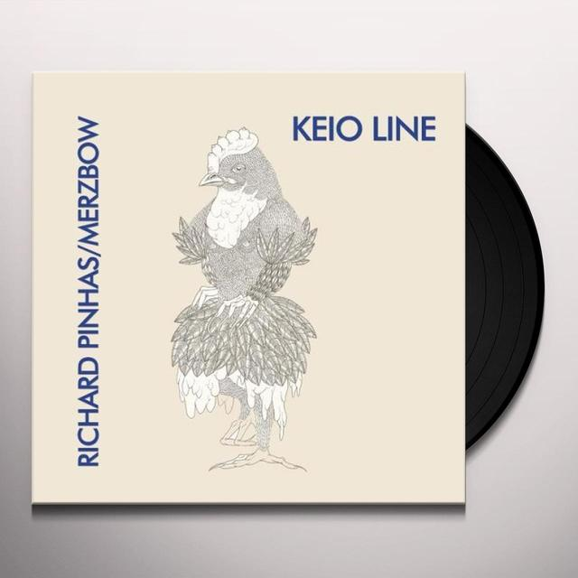 Richard / Merzbow Pinhas KEIO LINE Vinyl Record - Limited Edition, Special Packaging