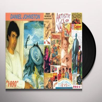 Daniel Johnston 1990 / ARTISTIC VICE Vinyl Record - Reissue
