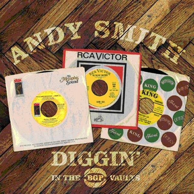 Andy Smith DIGGIN IN THE BGP VAULTS Vinyl Record
