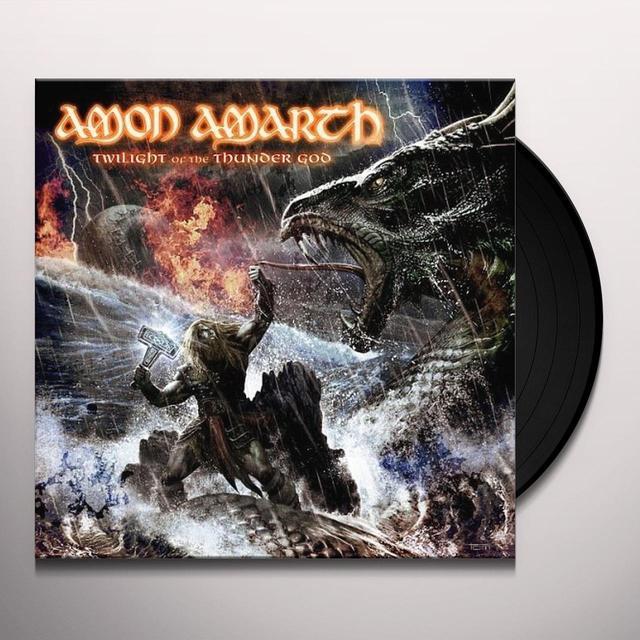 Amon Amarth TWILIGHT OF THE THUNDER GOD Vinyl Record - Picture Disc