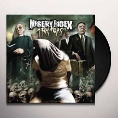 Misery Index TRAITORS Vinyl Record