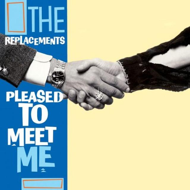 The Replacements PLEASED TO MEET ME Vinyl Record - Reissue