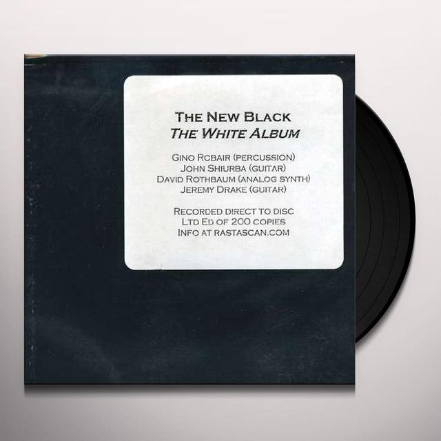 New Black WHITE ALBUM Vinyl Record
