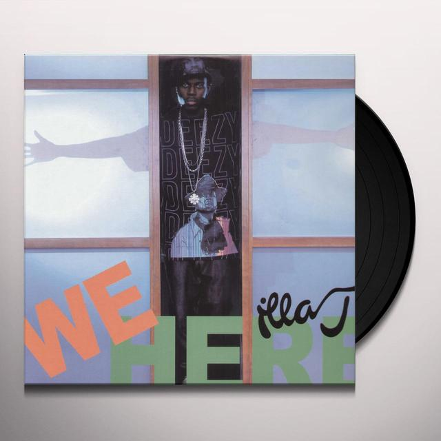 Illa J WE HERE / R U LISTENIN Vinyl Record