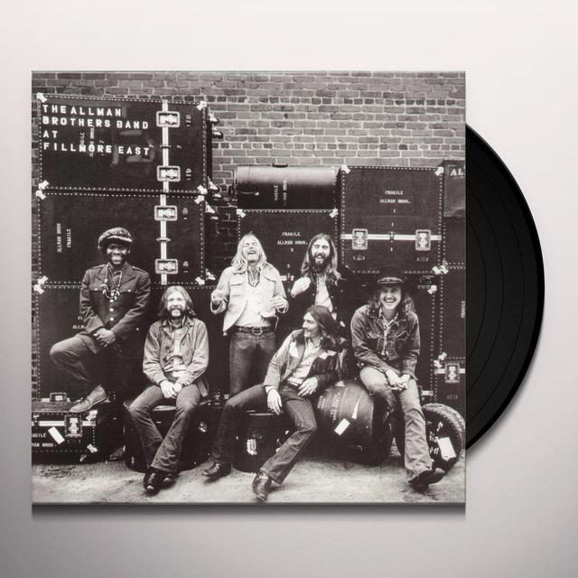 The Allman Brothers Band  LIVE AT FILLMORE EAST Vinyl Record - 180 Gram Pressing