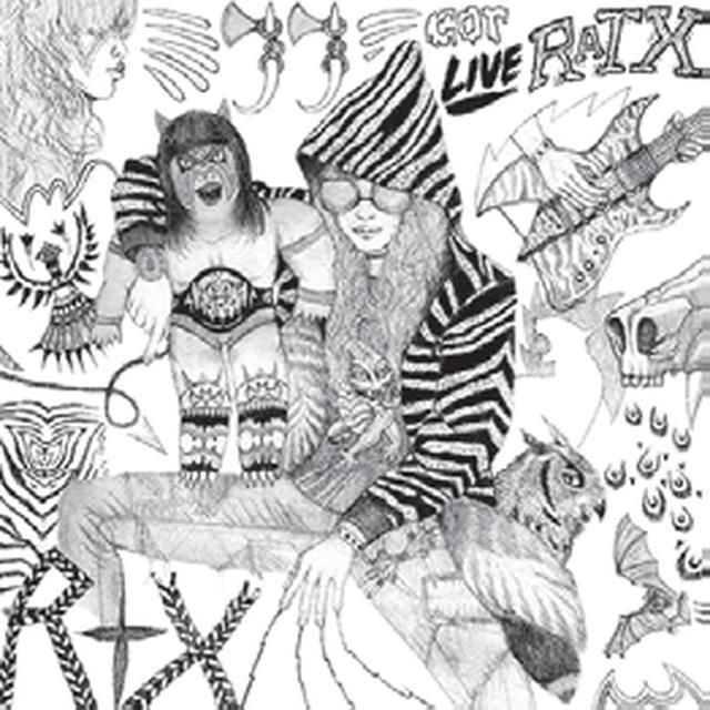 Rtx JJ GOT LIVE RATX Vinyl Record