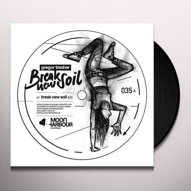 Gregor Tresher BREAK NEW SOIL (EP) Vinyl Record