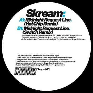 Skream MIDNIGHT REQUEST LINE (REMIXES) Vinyl Record