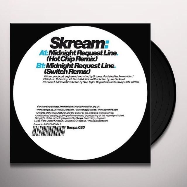 Skream MIDNIGHT REQUEST LINE (REMIXES) (EP) Vinyl Record