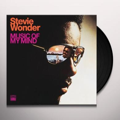 Stevie Wonder MUSIC OF MY MIND Vinyl Record - 180 Gram Pressing