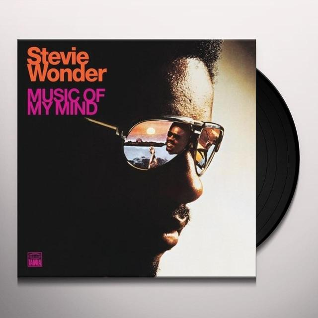 Stevie Wonder MUSIC OF MY MIND Vinyl Record - 180 Gram Pressing