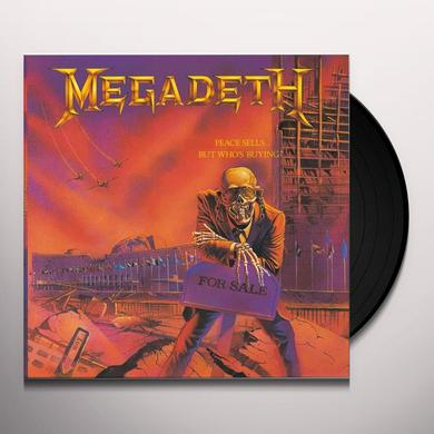 Megadeth PEACE SELLS BUT WHO'S BUYING Vinyl Record - Limited Edition, 180 Gram Pressing