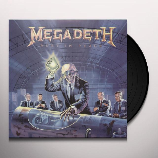 Megadeth RUST IN PEACE Vinyl Record - Limited Edition, 180 Gram Pressing