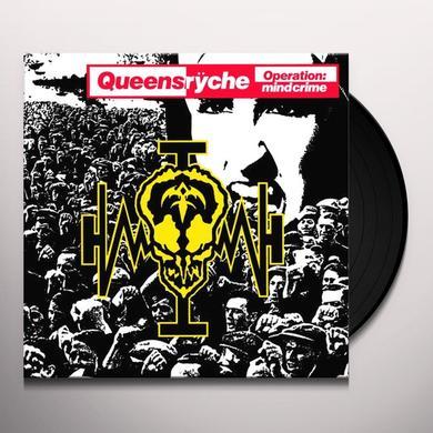Queensrÿche OPERATION MINDCRIME Vinyl Record - Limited Edition, 180 Gram Pressing