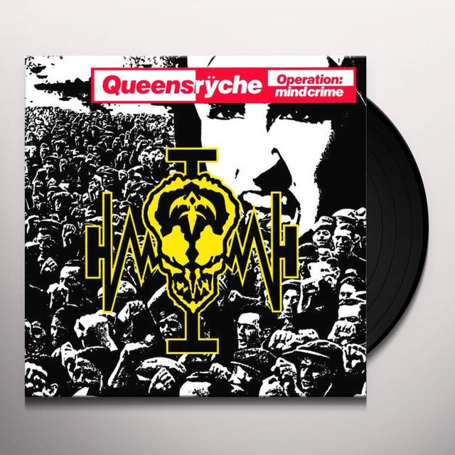 Queensrÿche OPERATION MINDCRIME Vinyl Record - Limited Edition, 180 Gram Pressing