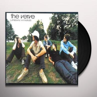 The Verve URBAN HYMNS Vinyl Record - Limited Edition, 180 Gram Pressing
