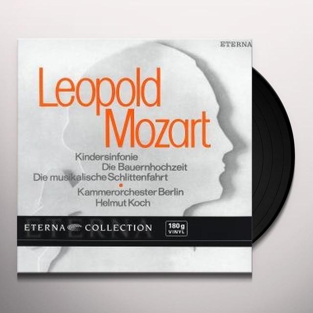 Mozart / Bco / Koch ORCHESTRAL WORKS Vinyl Record