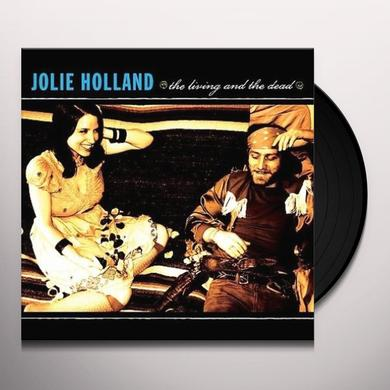 Jolie Holland LIVING & THE DEAD Vinyl Record