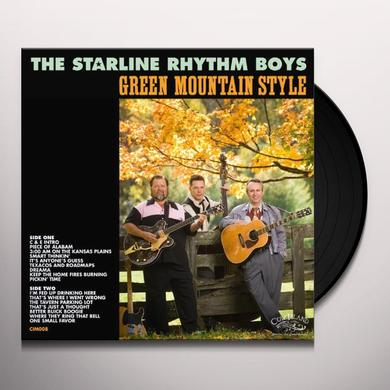 Starline Rhythm Boys GREEN MOUNTAIN STYLE Vinyl Record