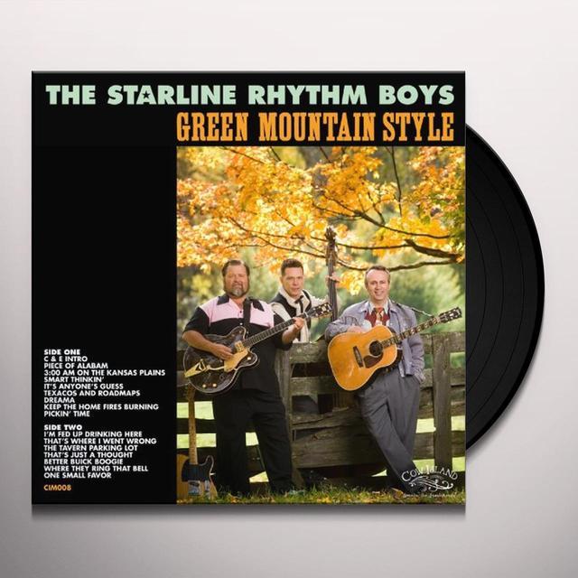 Starline Rhythm Boys GREEN MOUNTAIN STYLE Vinyl Record - Collector's Edition