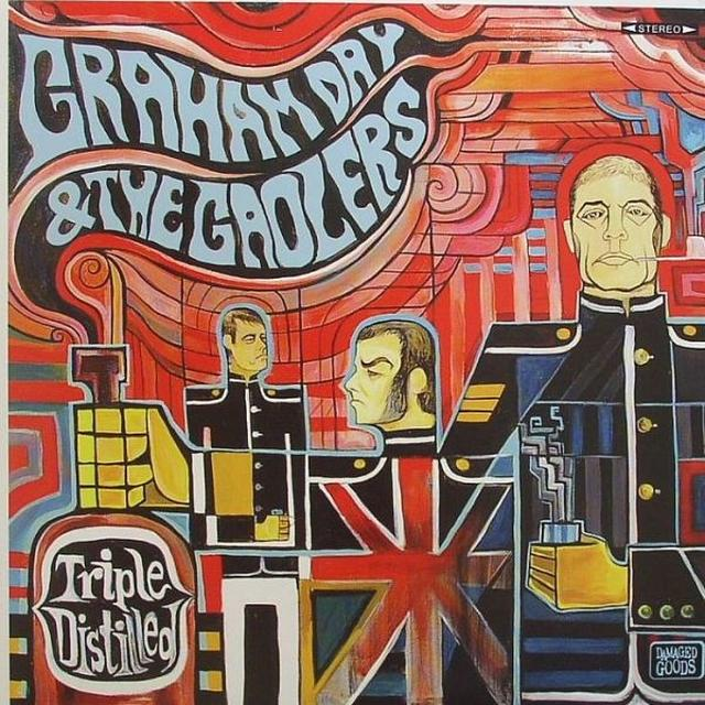 Graham Day & The Gaolers TRIPLE DISTILLED Vinyl Record