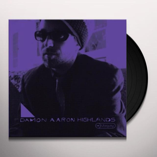Damon Aaron HIGHLANDS Vinyl Record