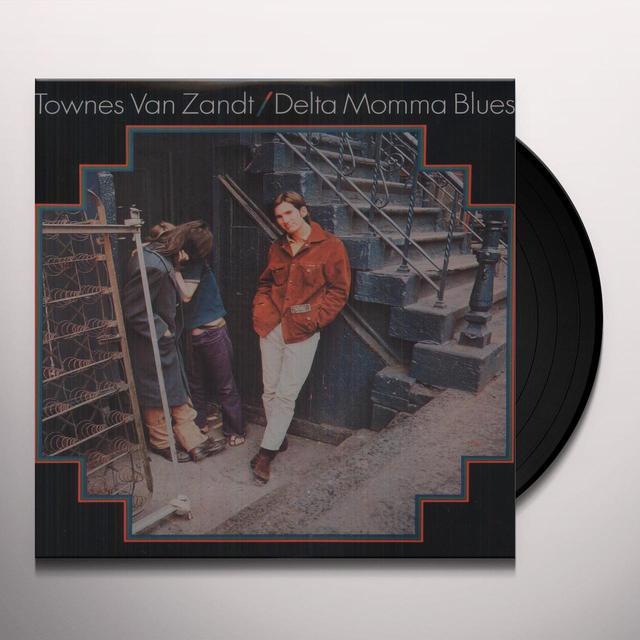 Townes Van Zandt DELTA MOMMA BLUES Vinyl Record - 180 Gram Pressing