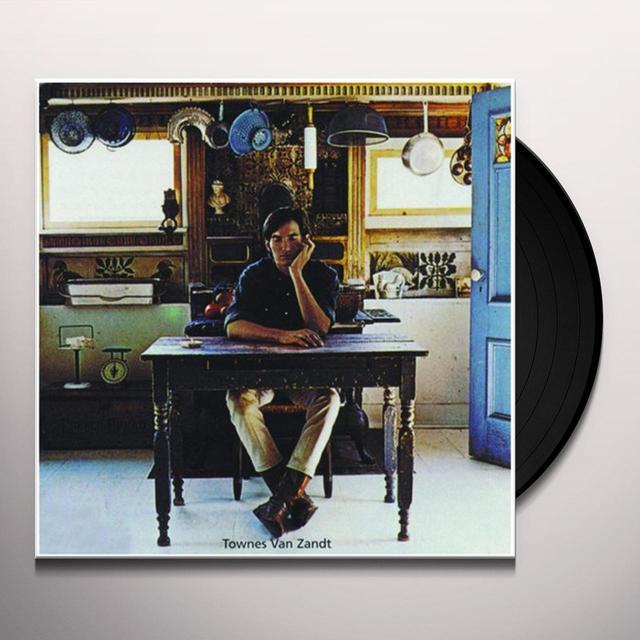 TOWNES VAN ZANDT Vinyl Record - 180 Gram Pressing