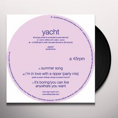 Yacht SUMMER SONG Vinyl Record