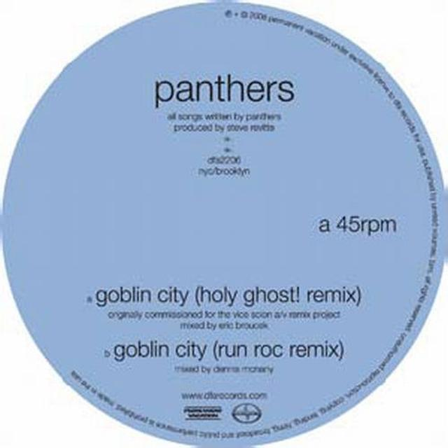 Panthers GOBLIN CITY (X2) Vinyl Record