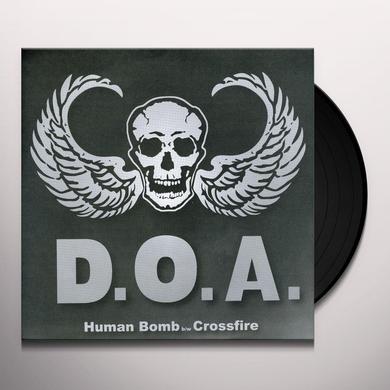 Doa HUMAN BOMB / CROSSFIRE Vinyl Record