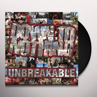 DOWN TO NOTHING UNBREAKABLE Vinyl Record