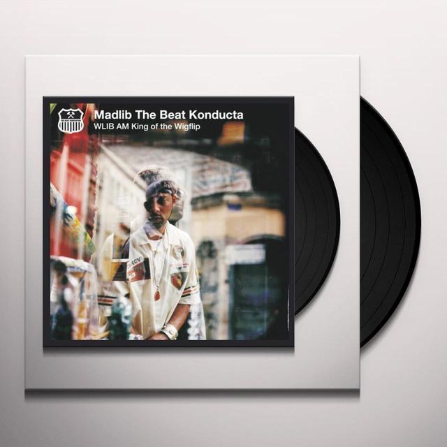 Madlib WLIB AM: KING OF THE WIGFLIP Vinyl Record