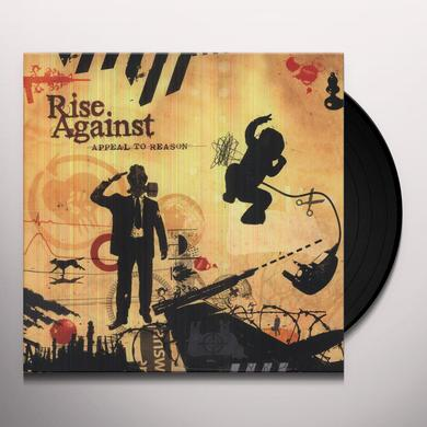 Rise Against APPEAL TO REASON Vinyl Record - Limited Edition, Digital Download Included