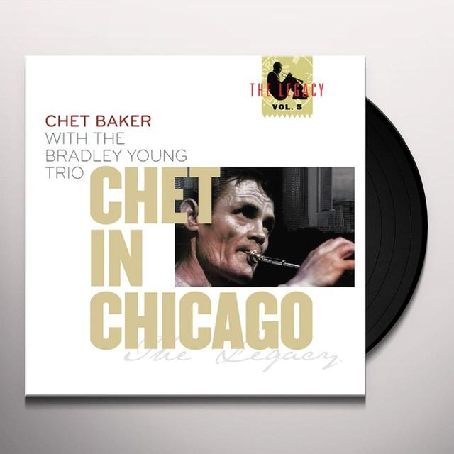 Chet Baker / Bradley Young CHET IN CHICAGO (DIG) Vinyl Record