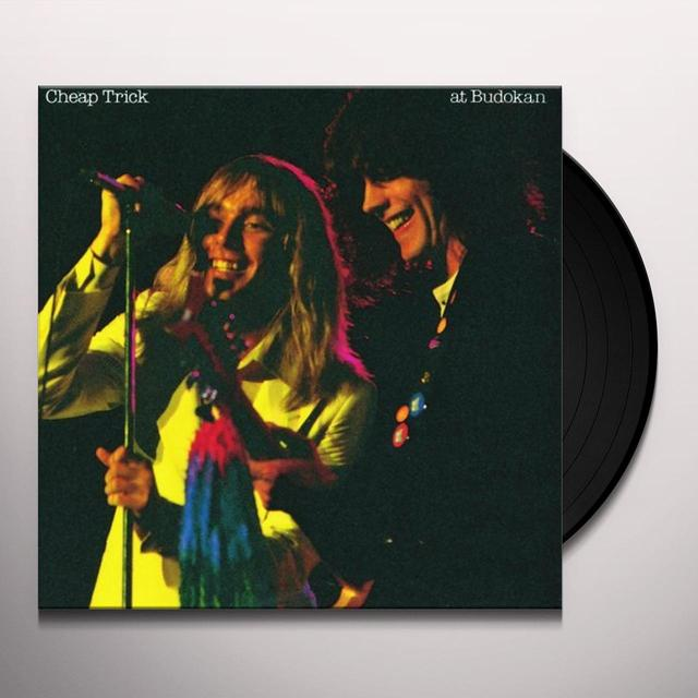 Cheap Trick LIVE AT BUDOKAN Vinyl Record - 180 Gram Pressing