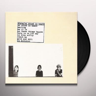 Klang NO SOUND IS HEARD Vinyl Record