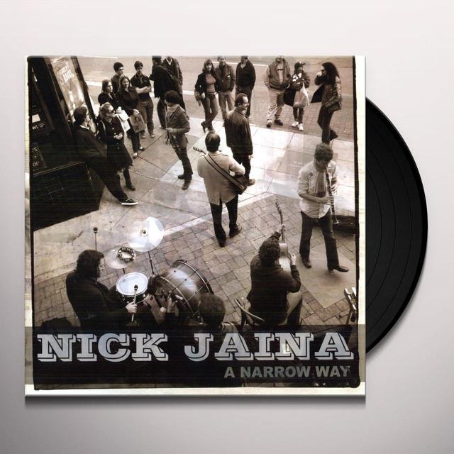Nick Jaina NARROW WAY Vinyl Record