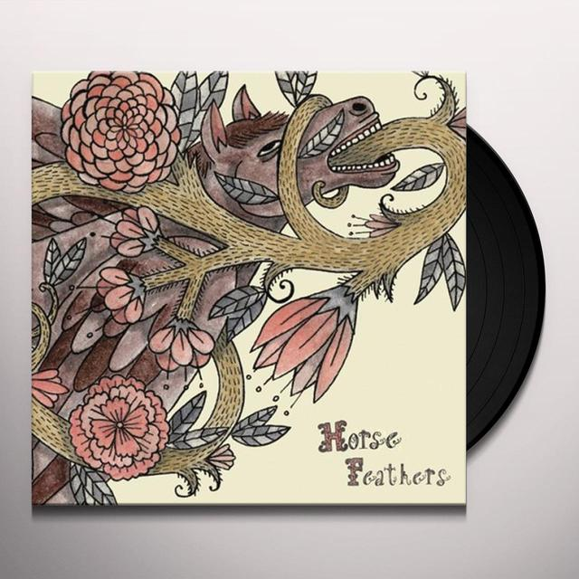 Horse Feathers WORDS ARE DEAD Vinyl Record - Limited Edition