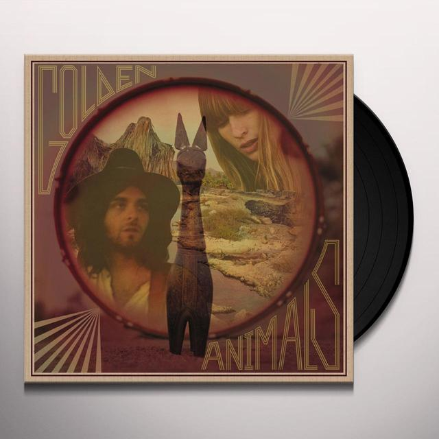Golden Animals FREE YOUR MIND & WIN A PONY Vinyl Record