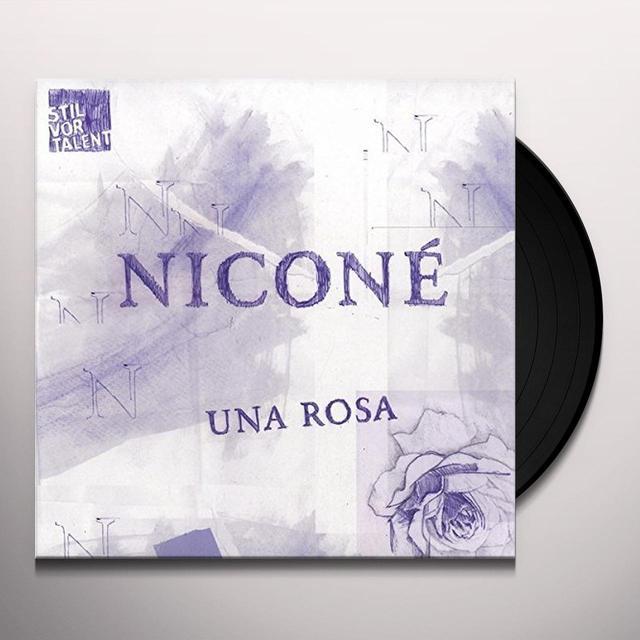 Nicone UNA ROSA (EP) Vinyl Record