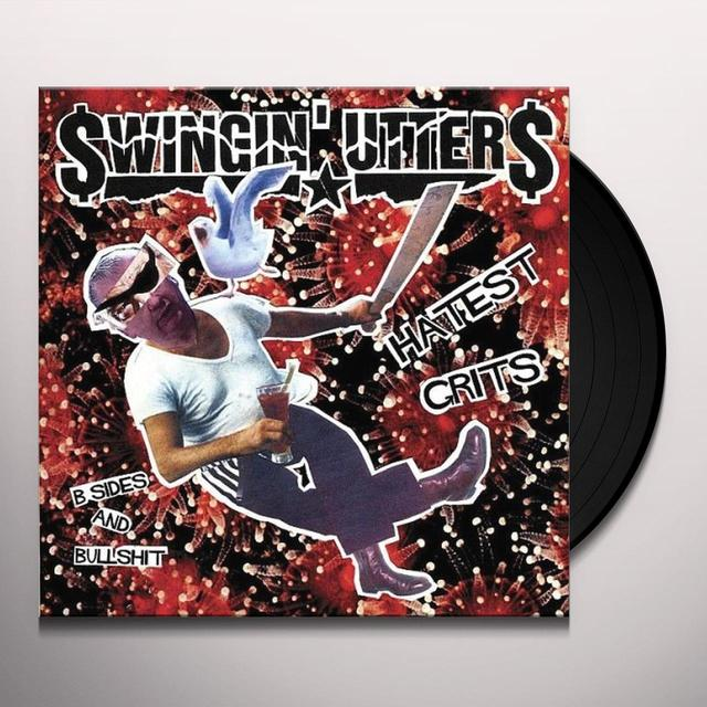 Swingin' Utters HATEST GRITS: B-SIDES & BULLSHIT Vinyl Record - Digital Download Included