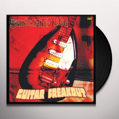 Animated Egg GUITAR FREAKOUT Vinyl Record