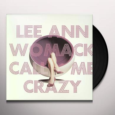 Lee Ann Womack CALL ME CRAZY Vinyl Record