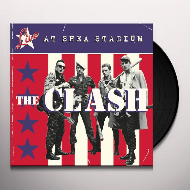 The Clash LIVE AT SHEA STADIUM Vinyl Record