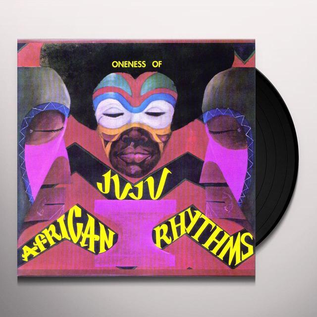 Oneness Of Juju AFRICAN RHYTHMS Vinyl Record