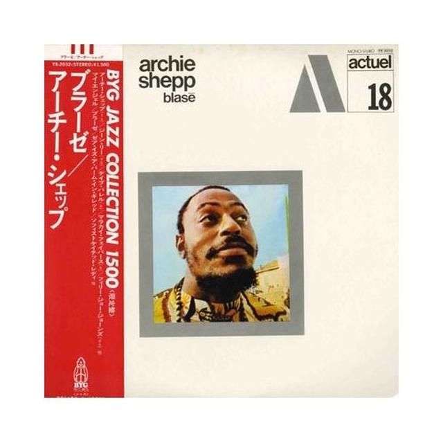 Archie Shepp BLASE Vinyl Record - 180 Gram Pressing