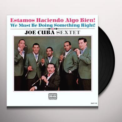Joe Cuba WE MUST BE DOING SOMETHING RIGHT Vinyl Record