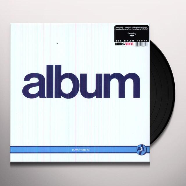 Public Image Ltd ( Pil ) ALBUM Vinyl Record - Reissue, 180 Gram Pressing